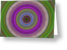 Introspection - Energy Art By Sharon Cummings Greeting Card