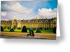 Invalides Paris France Greeting Card