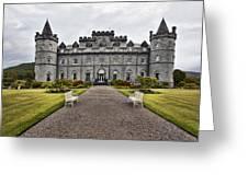 Inveraray Castle Argyll Greeting Card