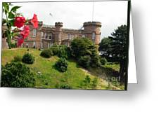 Inverness Castle On The Hill Greeting Card