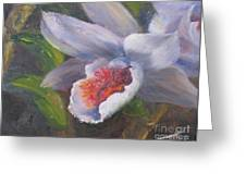 Inviting- Oil Greeting Card