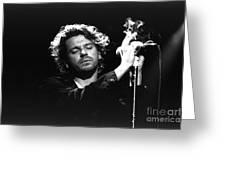 Inxs-michael-gp04 Greeting Card by Timothy Bischoff