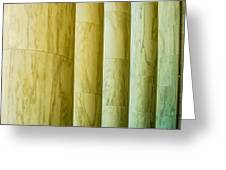 Ionic Architectural Columns Details Greeting Card