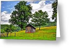 Iotla Valley  Greeting Card