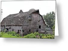 Iowa Barn 7414 Greeting Card