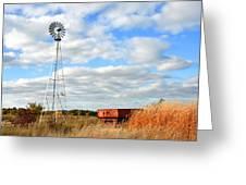 Iowa Windmill Greeting Card