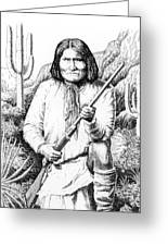 iPhone-Case-Geronimo Greeting Card