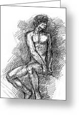 iPhone-Case-Nude-Male1 Greeting Card