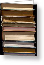 iPhone Case - Pile Of Books Greeting Card
