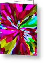 Iphone Cases Colorful Flowers Abstract Roses Gardenias Tiger Lily Florals Carole Spandau Cbs Art 179 Greeting Card by Carole Spandau