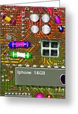 Iphone I-art M118 Greeting Card
