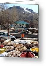 Iran Kandovan Spices Greeting Card