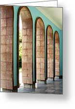 Iran Saadi Monument Shiraz Greeting Card