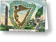 Ireland 1894 Greeting Card