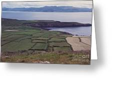 Ireland Emerald Isle Fields By Jrr Greeting Card