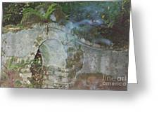 Ireland Ghostly Grave Greeting Card