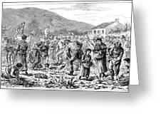Ireland Peasants, 1886 Greeting Card