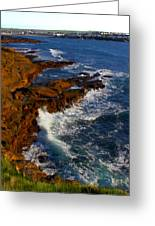 Ireland Rocky Coast Greeting Card