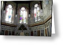 Ireland St. Brendan's Cathedral Stained Glass Greeting Card