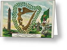 Irelands Historical Emblems Greeting Card