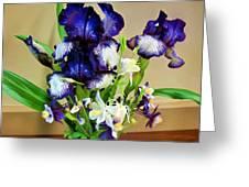 Iris #16 Greeting Card