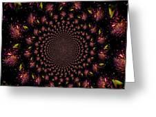 Iris And Foliage Greeting Card