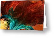 Iris Sonata 3 Greeting Card