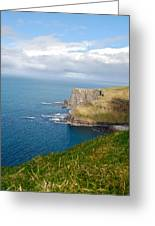 Irish Cliffs Greeting Card