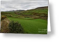 Irish Countryside Hdr Greeting Card