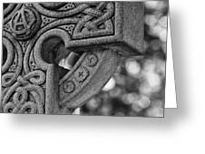 Irish Cross Marker Greeting Card