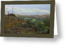 A Serene Irish Landscape # 3  Greeting Card