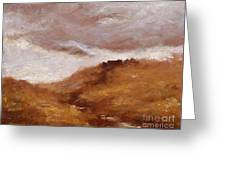 Irish Landscape I Greeting Card by John Silver
