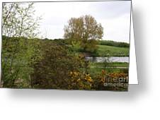 Irish Landscape In Spring Greeting Card