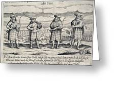 Irish Mercenaries In Stettin Greeting Card