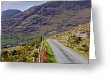 Irish Road Greeting Card