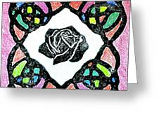 Irish Rose Greeting Card by Marita McVeigh