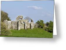 Irish Ruins Greeting Card