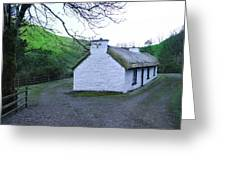 Irish Thatched Roof Cottage Greeting Card