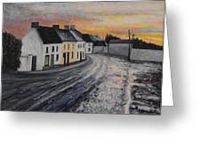 Rathvilly After The Rain Greeting Card