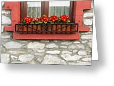 Irish Window Greeting Card