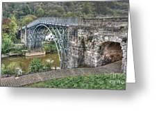 Iron Bridge Greeting Card