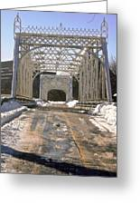 Iron Bridges Greeting Card
