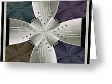 Iron Cross Ironic Cross Greeting Card
