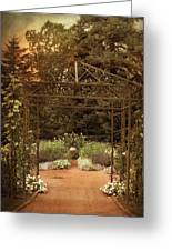 Iron Entrance Greeting Card by Jessica Jenney