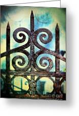 Iron Gate Detail Greeting Card