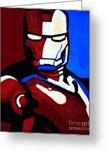 Iron Man 2 Greeting Card by Barbara McMahon