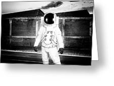 The Astronaut Homecoming Greeting Card