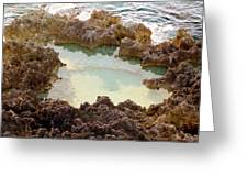 Ironshore Tidewater Pool Greeting Card