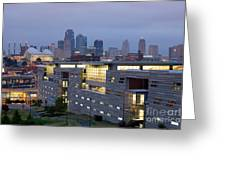 Irs Complex In Downtown Kansas City Mo Greeting Card