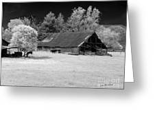 Irving College Barn Greeting Card